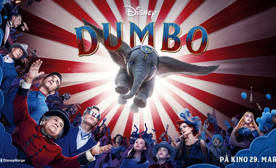 Dumbo (2D, Norsk tale)