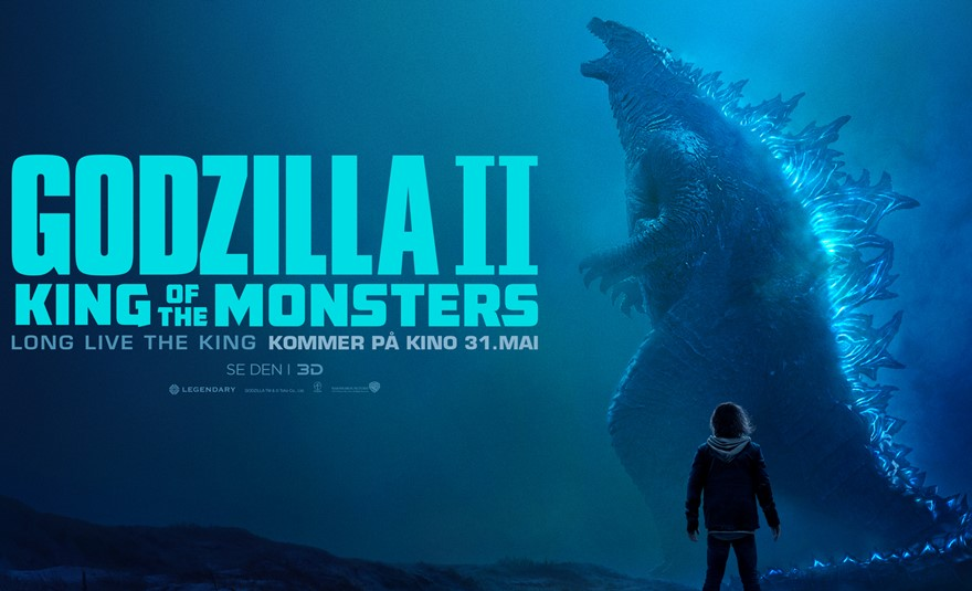 Godzilla: King of the Monsters (2D, Atmos)